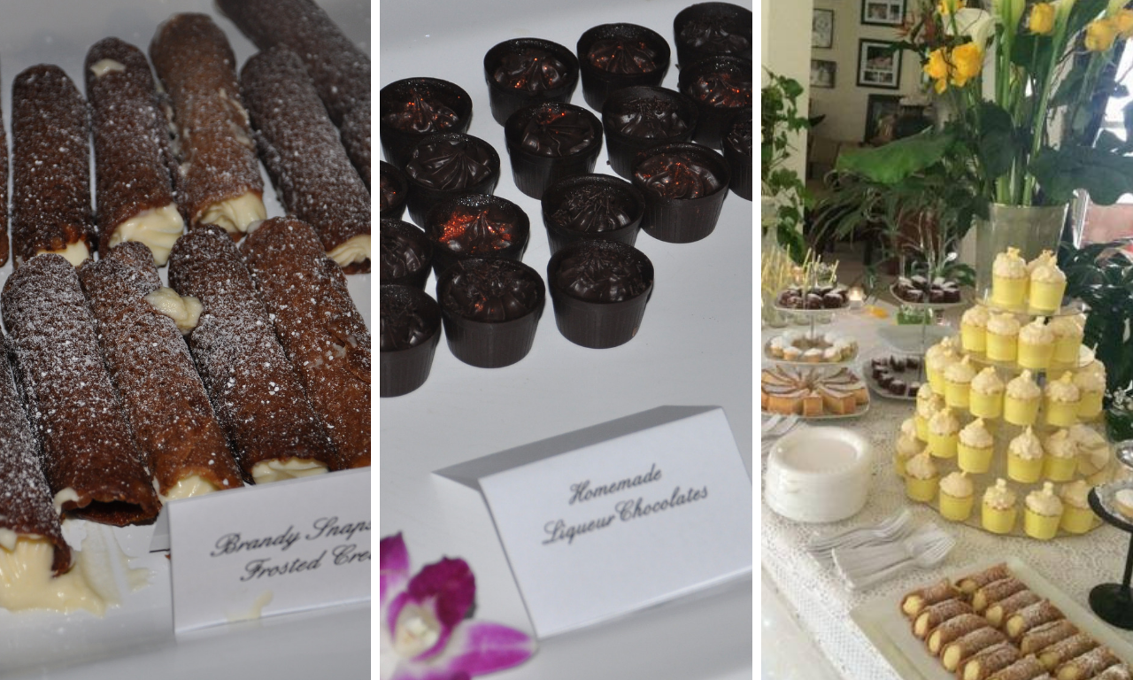 central coast catering dessert table photos