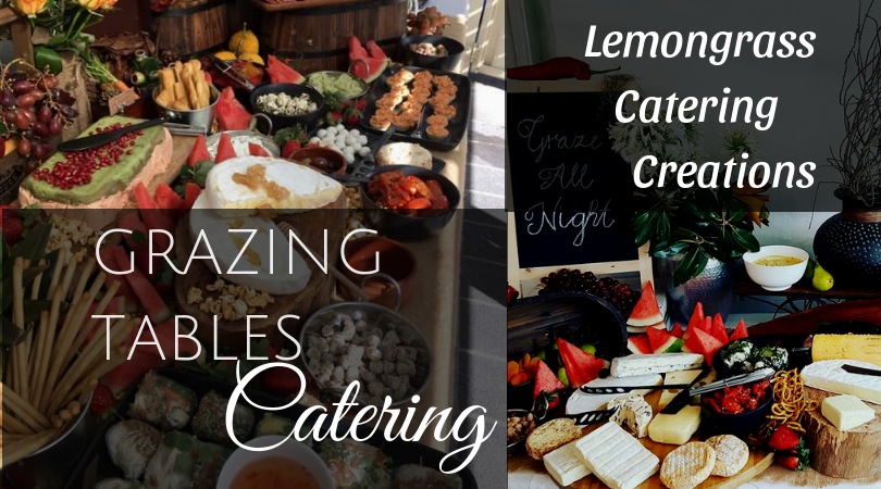 central coast grazing tables filled with delicious food lemongrass catering