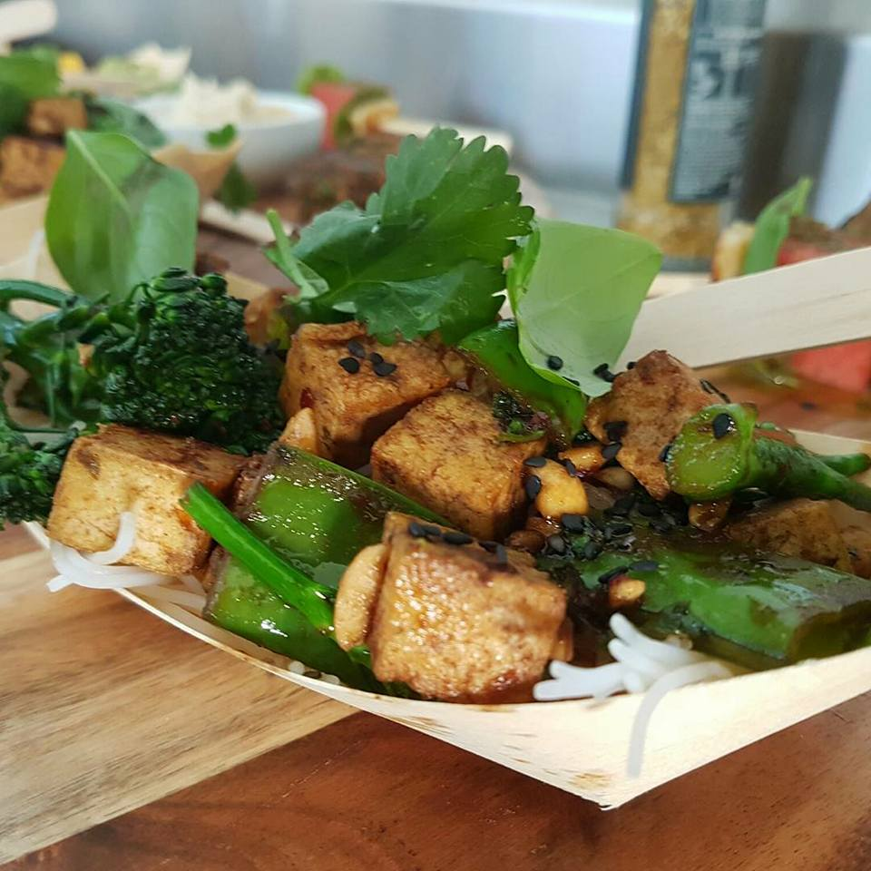 vegetarian and vegan options catering central coast